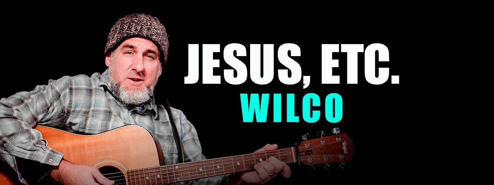Jesus Etc guitar lesson with Jason Carey